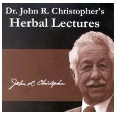 Dr Christopher's Herb Lectures CDs