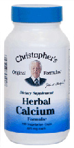 Dr Christopher's Herbal Calcium Capsules