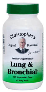 Dr Christopher's LUng & Bronchial Formula