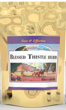 Blessed Thistle Herb,  16 oz cut Blessed Thistle herb cut