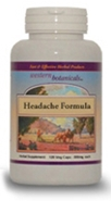Headache Formula, 120 capsules herbs for migrain headache,Western Botanicals Headache Formula,natural headache product