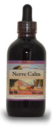 Nerve Calm Syrup, 2 oz.   Western Botanicals Nerve Calm Syrup,herbs for stress,calming herbs,herbs for sleep