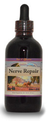Nerve Reinforcement Syrup (Nerve Repair), 4 oz. Western Botanicals Nerve Repair Syrup,herbs to repair nerve damage,herbs for nerve problems