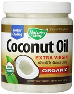 Organic Coconut Oil - 32 oz Natures Way Organic Coconut Oil,fractionated coconut oil