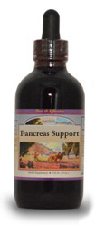 Pancreas Support Extract, 4 oz.  Western Botanicals Pancreas Support Extract,herbs for pancreas,herbs for diabetes