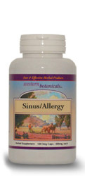 Seasonal Sinus Formula, 120 capsules Western Botanicals Seasonal Sinus Formula,herbs for allergy,herbs for sinus,herbs for sinus and allergy