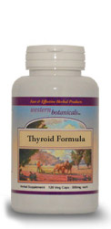 Thyroid Formula, 120 capsules Western Botanicals Thyroid Formula,natural thyroid help