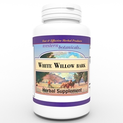 White Willow Bark, capsules Western Botanicals White Willow Bark capsules,White Willow Bark capsules,
