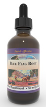 Blue Flag Root extract, 4 oz. Blue Flag root extract