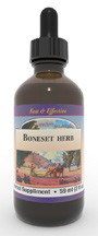 Boneset Herb extract, 2 oz.  Boneset herbal extract