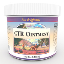 CTR Ointment, 5 oz. Wesern Botanicals CTR Ointment,Wesern Botanicals Complete Tissue Repair Ointment,ointment for skin injuries,ointment for joint problems