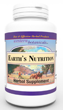 Earths Nutrition, 230 capsules Western Botanicals Earths Nutrition,herbal based vitamin,natural vitamins,plant based vitamins