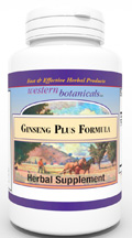 Ginseng Plus, 120 capsules Western Botanicals Ginseng Plus Formula,herbs for adrenal fatigue,herbs for energy