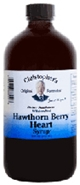Hawthorn Berry Heart Syrup, 16 oz. Dr Christophers Hawthorn Berry Heart Syrup,herbs for Heart