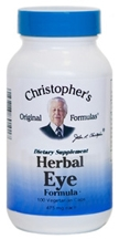 Herbal Eye Formula, 100 capsules Dr Christophers Herbal Eyebright Formula,Dr Christophers eye formula,Dr Christophers herbal eyebright eyewash,Dr Christopher eye wash,herbs for cataracts,herbs for eyes,herbs for Glaucoma