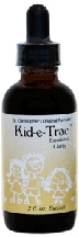 Kid-e-Trac, 2 oz. Dr Christophers Kid-e-Trac,herbs for anxiety in children,liquid herbs for anxiety,herbs for depression in children