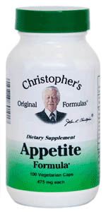 Appetite Formula, capsules herbs for weight Loss,Dr Christophers Appetite Formula,weight loss herbs,herbs to supress appetite
