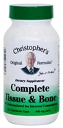 Complete Tissue & Bone Formula, 100 capsules Dr Christophers Complete Tissue and Bone fornula,bfc formula,herbs for healing bones,herbs for healing cartilage,Dr Christopher bulk BFC,broken bones,herbs for bone spurs,herbs for spinal disorders,herbs for Psoriasis?,herbs for skin problems,herbs for Finger Regeneration?.