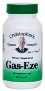 Gas-Eze, capsules Dr Christophers Gas-Eze Formula,herbs for gas,herbs for digestion,herbs for indigestion,Dr Christopher herb shop