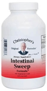Intestinal Sweep Formula, capsules Dr Christophers Intestinal Sweep,herbs for Candida,herbs for Parasites,herbs to heal leaky gut syndrome