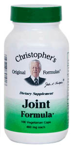 Joint Formula, 100 capsules Dr Christophers Joint Formula,herbal remedies for joint pain,herbs for joint pain,herbs to heal joints