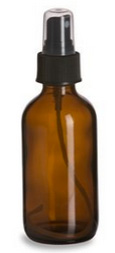 Amber Spray Bottle, 1 oz. 1 oz glass amber spray bottle,glass spray bottle
