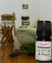 B-Power, 15 ml.  B-Power,Garden Essence Oils,essential oil for Brain function,oils for brain function