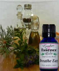 Breathe Easy, 15 ml. Garden Essence Oils Breathe Easy Blend