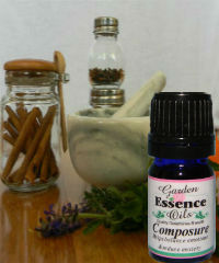 Composure, 5 ml. Garden Essence Oils Composure Blend
