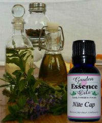 Nite Cap, 15 ml. Garden Essence Oils Nite Cap Essential Oil Blend,essential oils to help with sleep