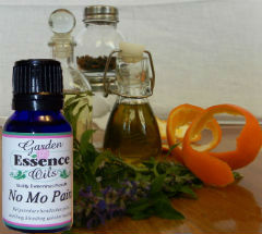 No-Mo Pain, 15 ml. Garden Essence Oils No-Mo-Pain Essential Oil Blend,Essential Oil for pain