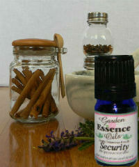 Security, 5 ml. Garden Essence Oils Security blend,essential oils for strength