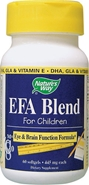 EFA Blend for Children Natures Way EFA Blend for Children,EFA blend for children with ADD/ADHD