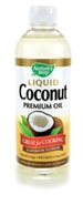 Natures Way Liquid Coconut Oil, 10 oz. Natures Way Liquid Coconut oil,fractionated coconut oil