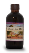Deep Heat Oil, 2 oz. Western Botanicals Deep Heat Oil,Cayenne Massage Oil