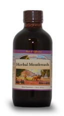 Herbal Mouthwash, 4 oz.  Western Botanicals Herbal Mouthwash,natural mouthwash,herbal mouthwash,mouthwash for gingivitis, mouthwash for Pyorrhea