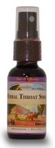 Herbal Throat Spray, 1 oz.  Western Botanicals Herbal Throat Spray,herbs for sore throat