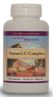 Natures C Complex, 100 capsules Western Botanicals Natures C Complex,herbal based vitamin C complex,natural vitamin C