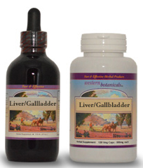 Western Botanicals Liver/gall bladder formula