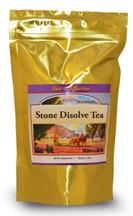 stone dissolve tea